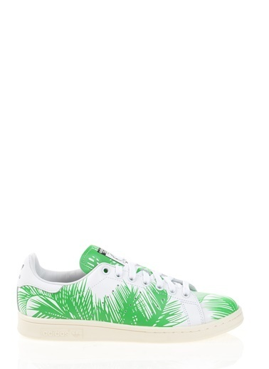 adidas Pharrell Williams Palm Tree Stan Smith Beyaz
